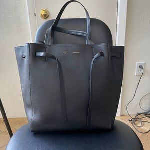 NWT Celine cabas phantom tote small, black
